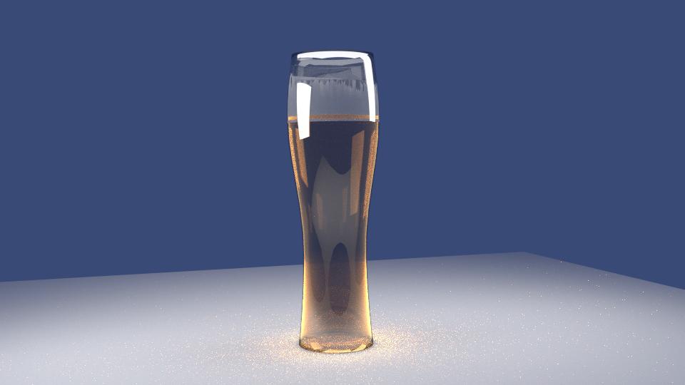 ガラスビール